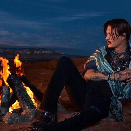 Dior con Johnny Depp