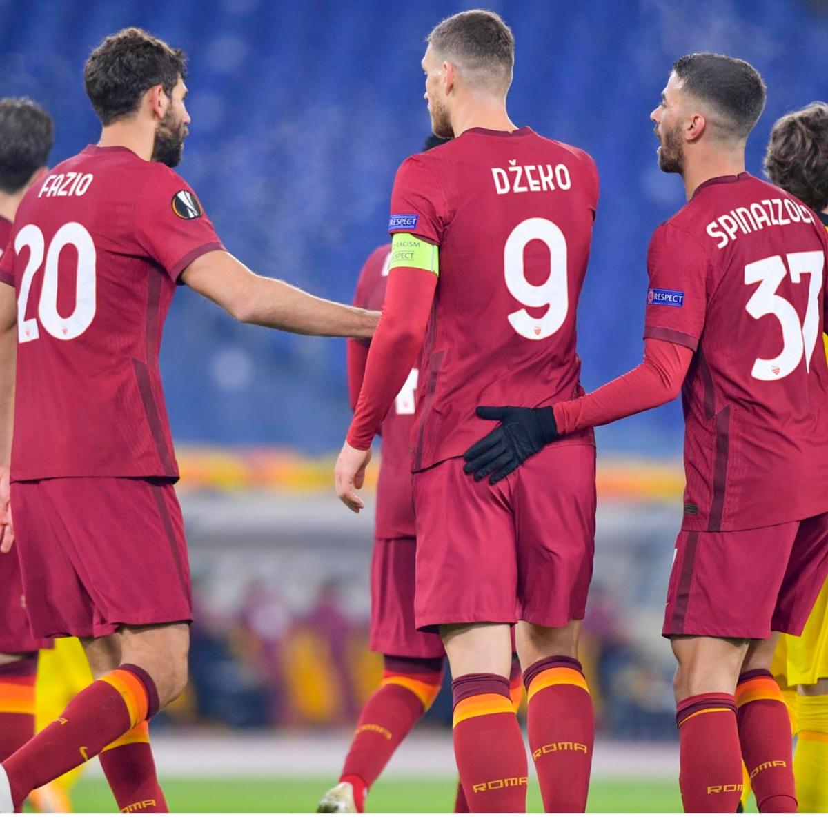 Probabili formazioni Roma-Manchester United