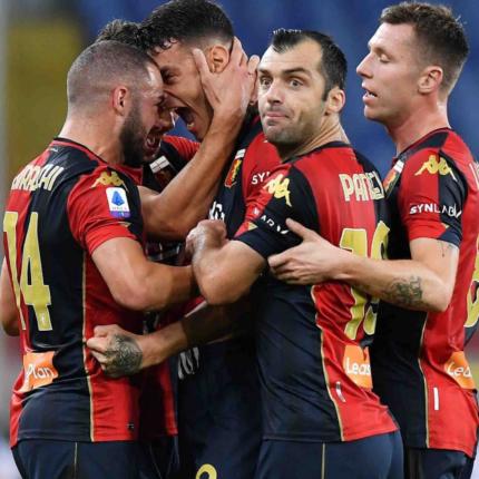 Il Genoa batte lo Spezia