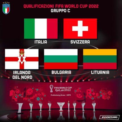 Qatar 2022 il girone Azzurro