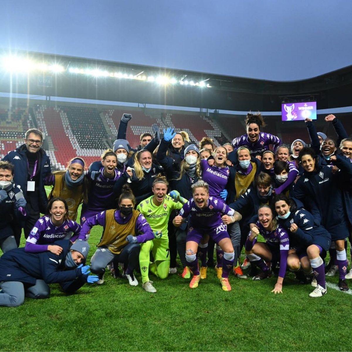 Fiorentina Femminile agli Ottavi di Champions