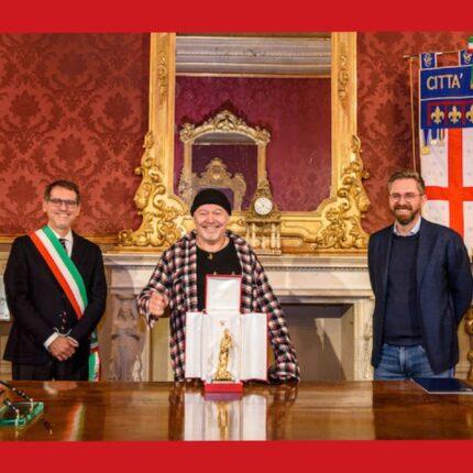 Vasco Rossi ha ricevuto il Nettuno d'Oro foto