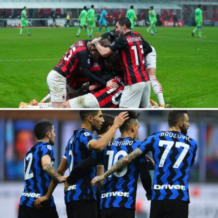 Milan Inter derby per lo scudetto_