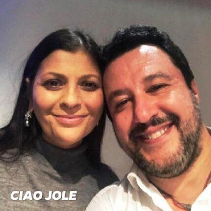 Salvini ricordaJole Santelli
