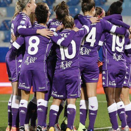 Juventus Fiorentina femminile per la Supercoppa