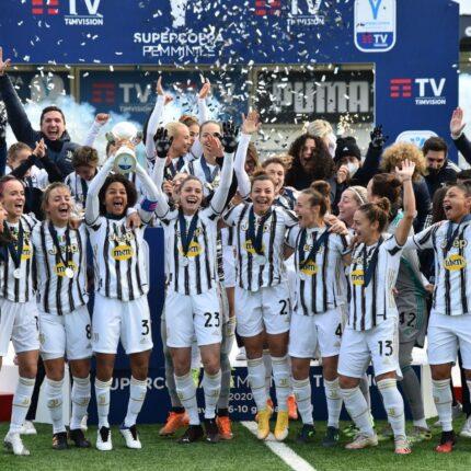 Alla Juventus Women la Supercoppa