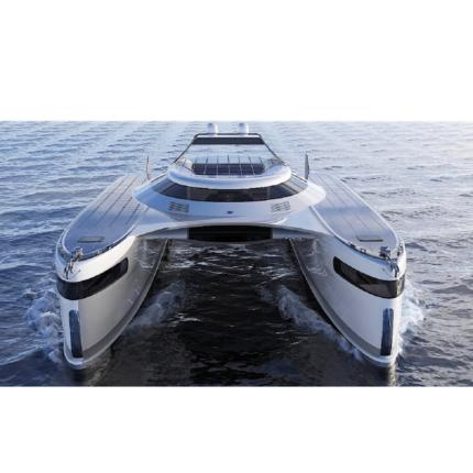 Pagurus: il catamarano anfibio che si muove anche sulla terraferma a soli 30 milioni di dollari