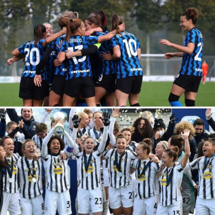 Inter Juventus anche nella A femminile
