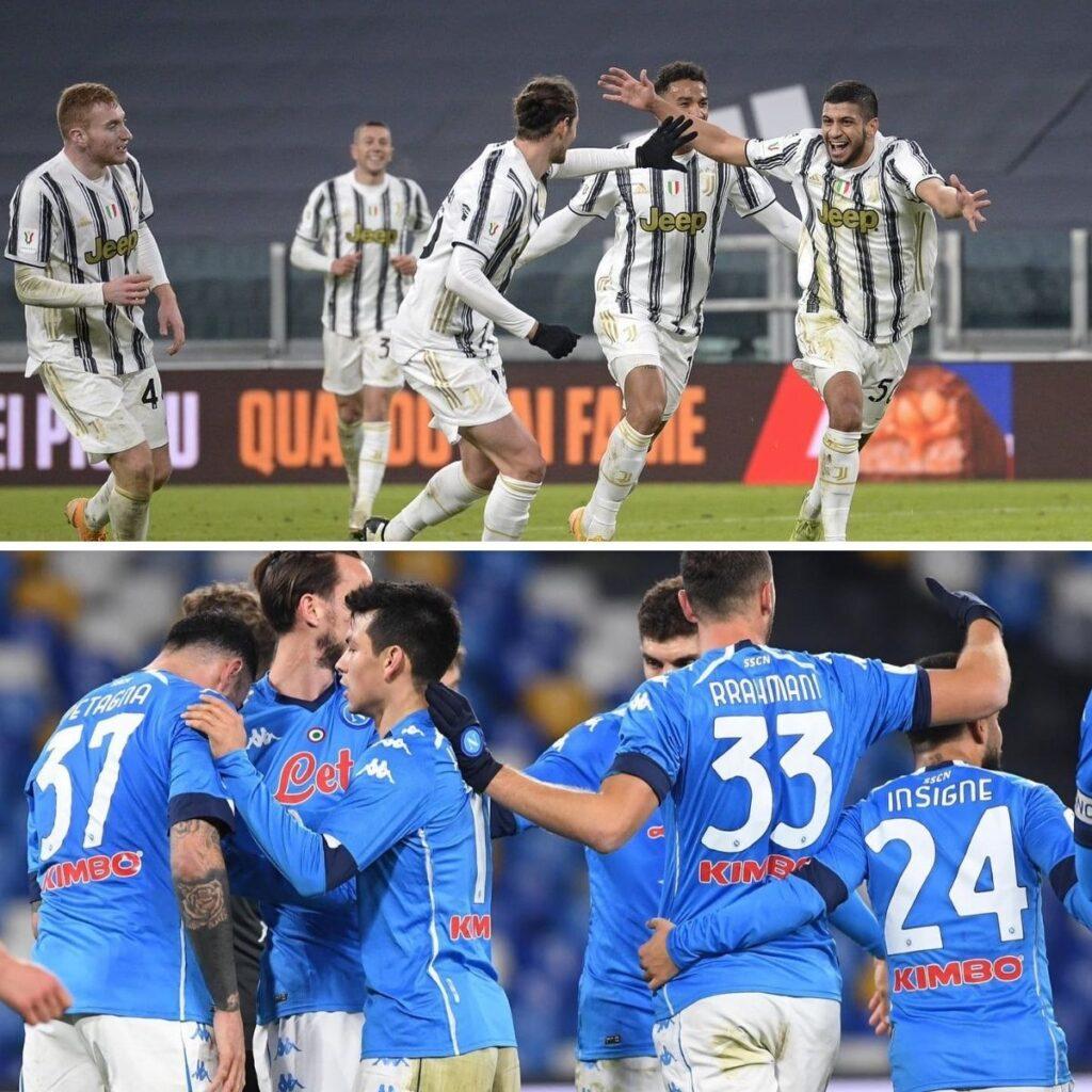 La notte della Supercoppa, in campo Juventus e Napoli
