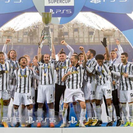 La Juventus trionfa in Supercoppa
