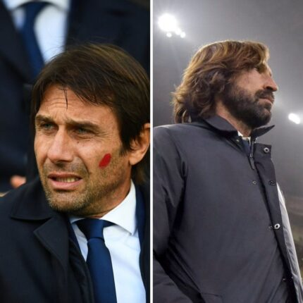 Juventus Inter vista dagli allenatori