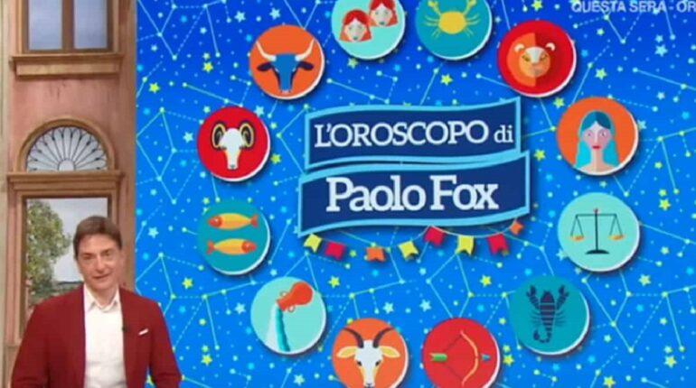 Oroscopo Paolo Fox Classifica Settimana 15 Febbraio 2021 i Fatti Vostri