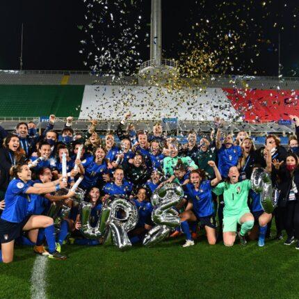 Le azzurre a Euro 2022