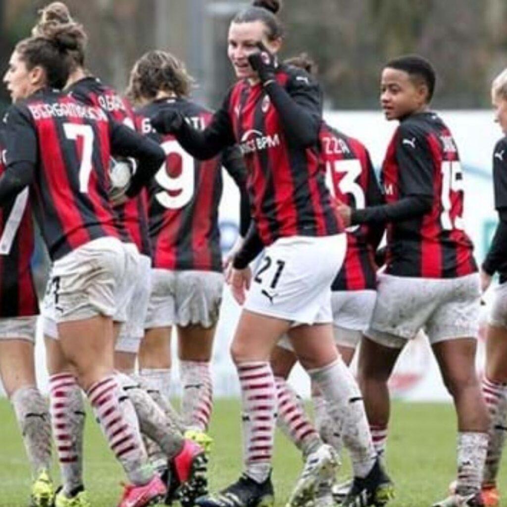Milan Femminile aggancia la vetta, oggi tocca alla Juve