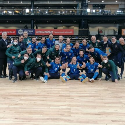 Futsal azzurro trionfa in Finlandia