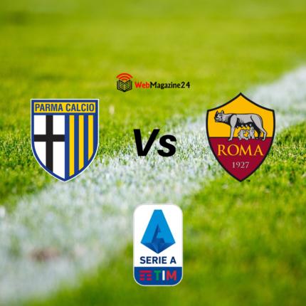 Dove vedere Parma-Roma
