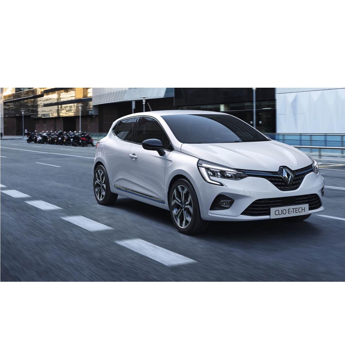 Renault Clio E-Tech Hybrid, auto elettrica che si ricarica da sola