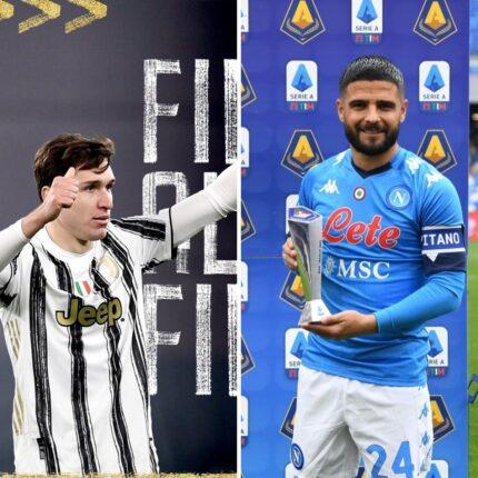 Il recupero Juve Napoli