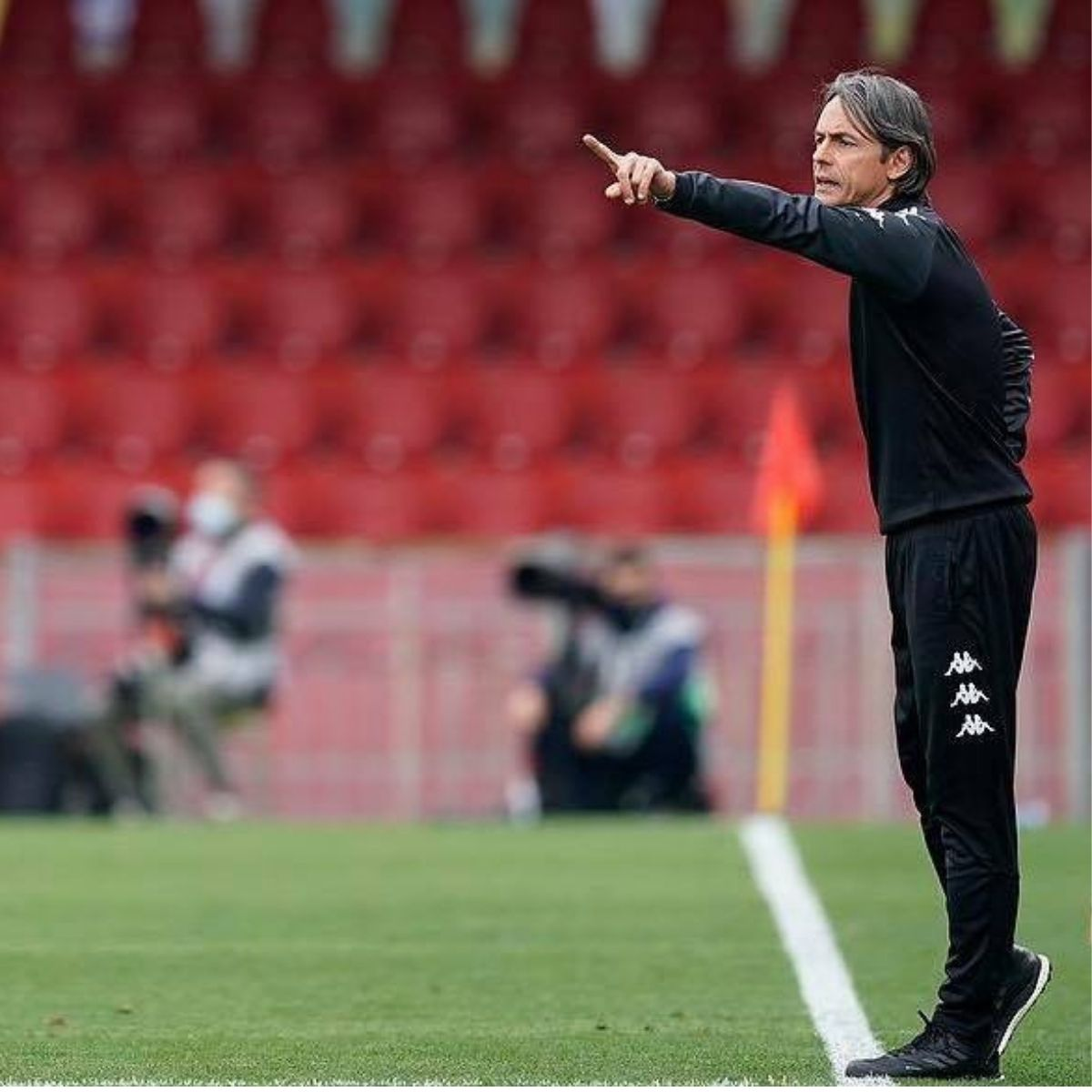 Pippo Inzaghi panchina d'argento