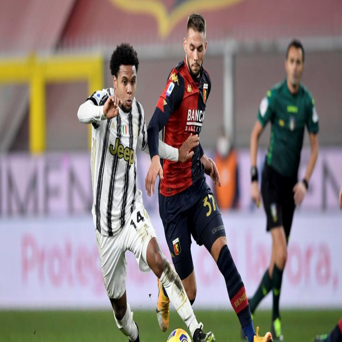 Juventus-Genoa probabili formazioni