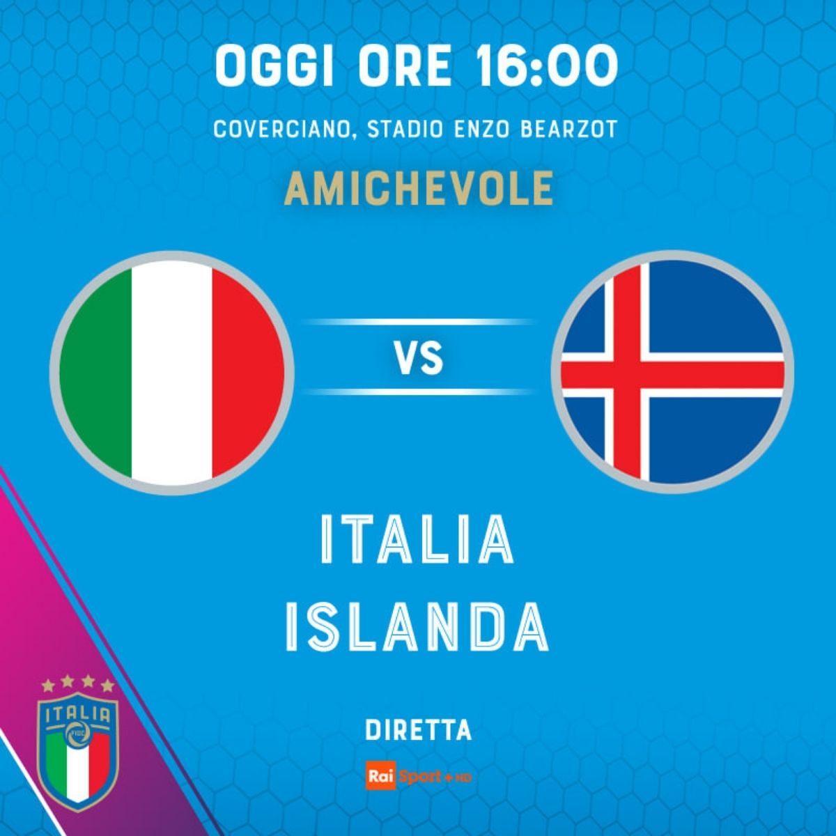 Italia Islanda femminile