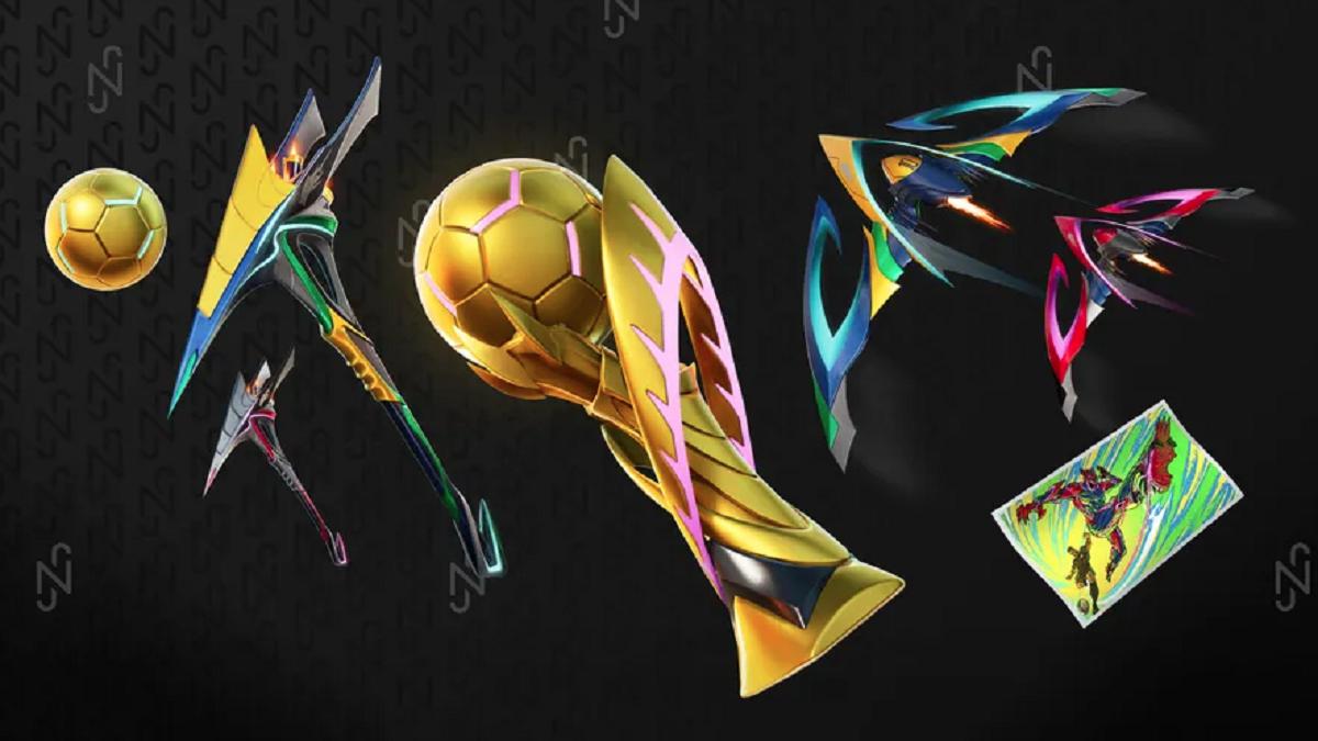Gli accessori di Neymar per Fortnite