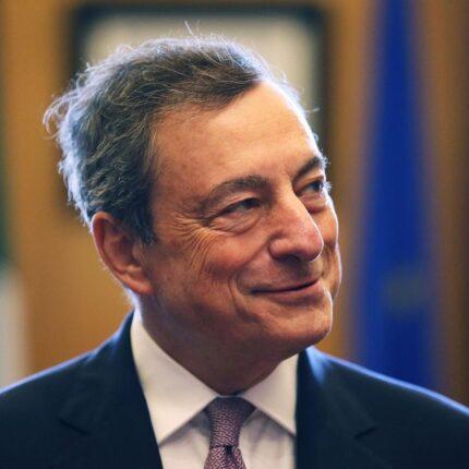 Draghi si impegna per la banda larga