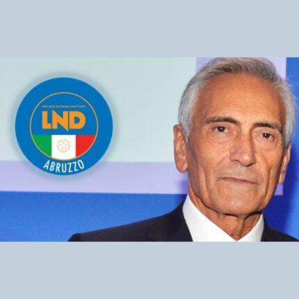 Il presidente Figc in Abruzzo