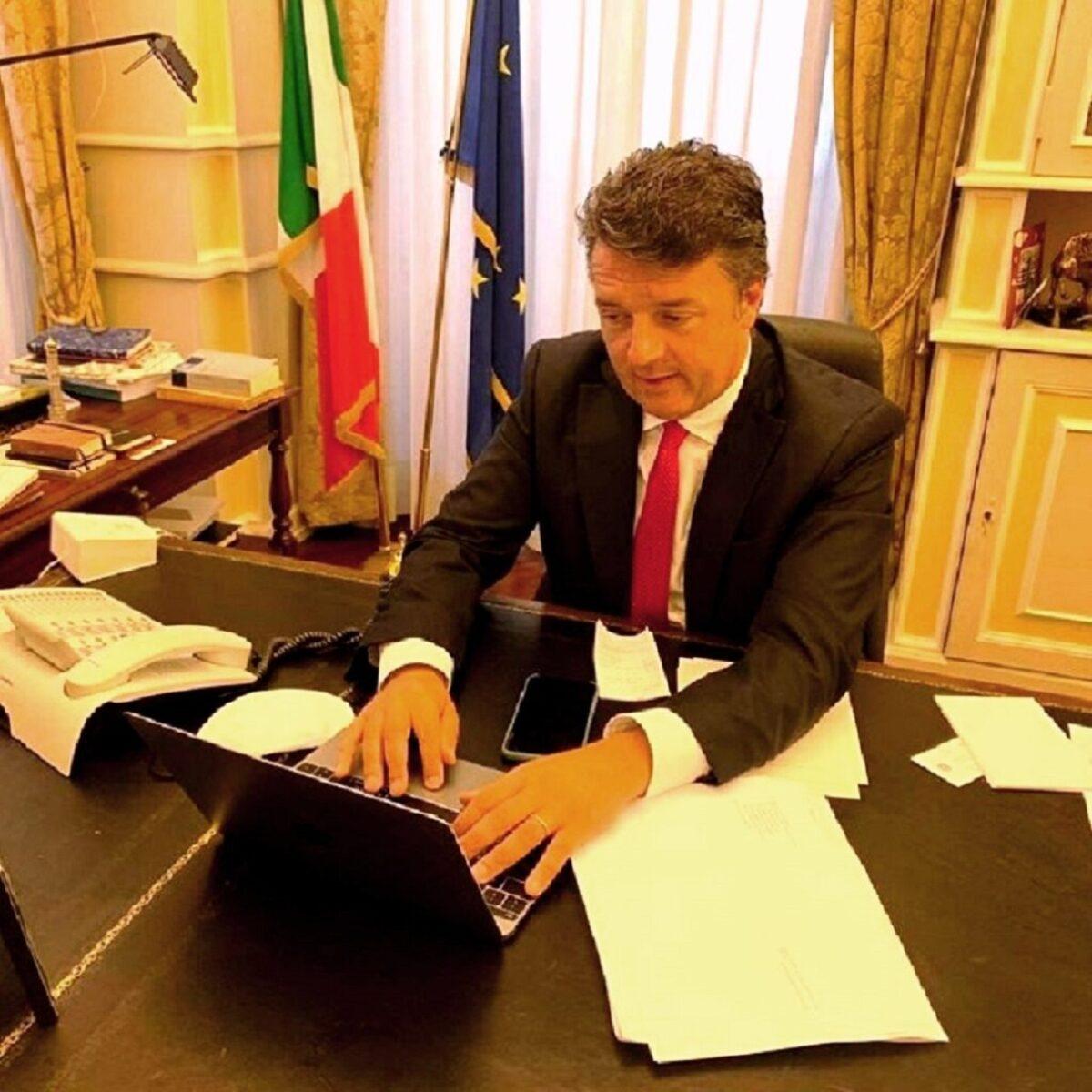 Renzi ringrazia Macron per gli arresti dei terroristi