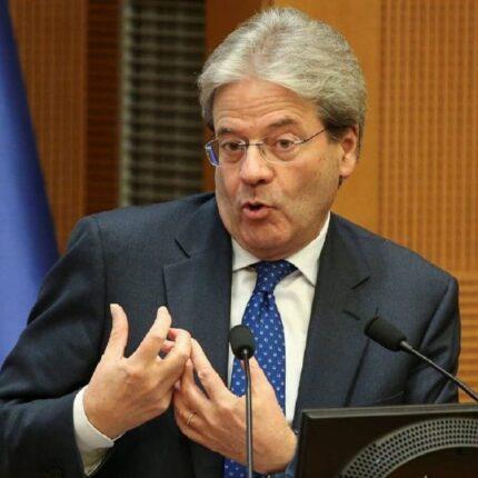 Gentiloni esprime solidarietà a Sassoli per il divieto di entrare in Russia