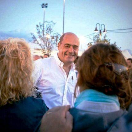 Zingaretti esprime solidarietà a Sassoli per il divieto di entrare in Russia