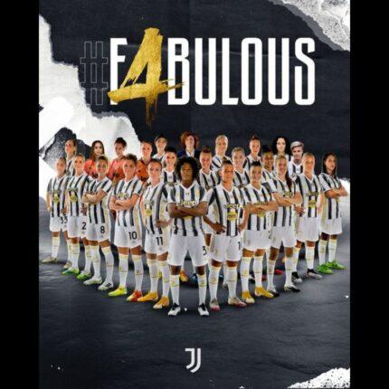 Juventus Women 4 volte campione