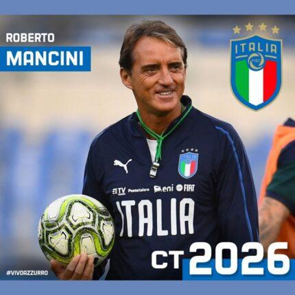 Mancini resta Ct della Nazionale