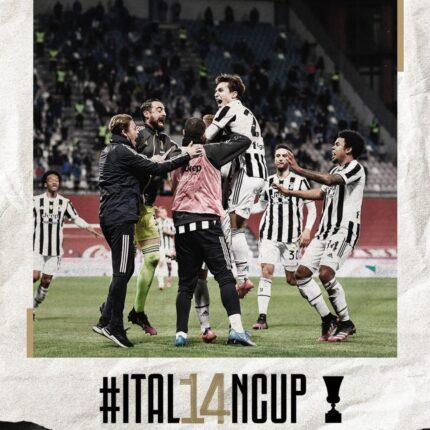 Coppa Italia alla Juventus