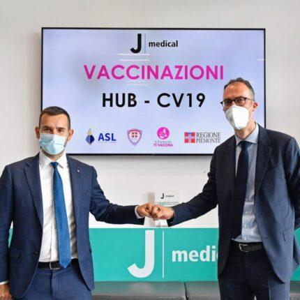 Hub vaccinale allo Juventus Stadium