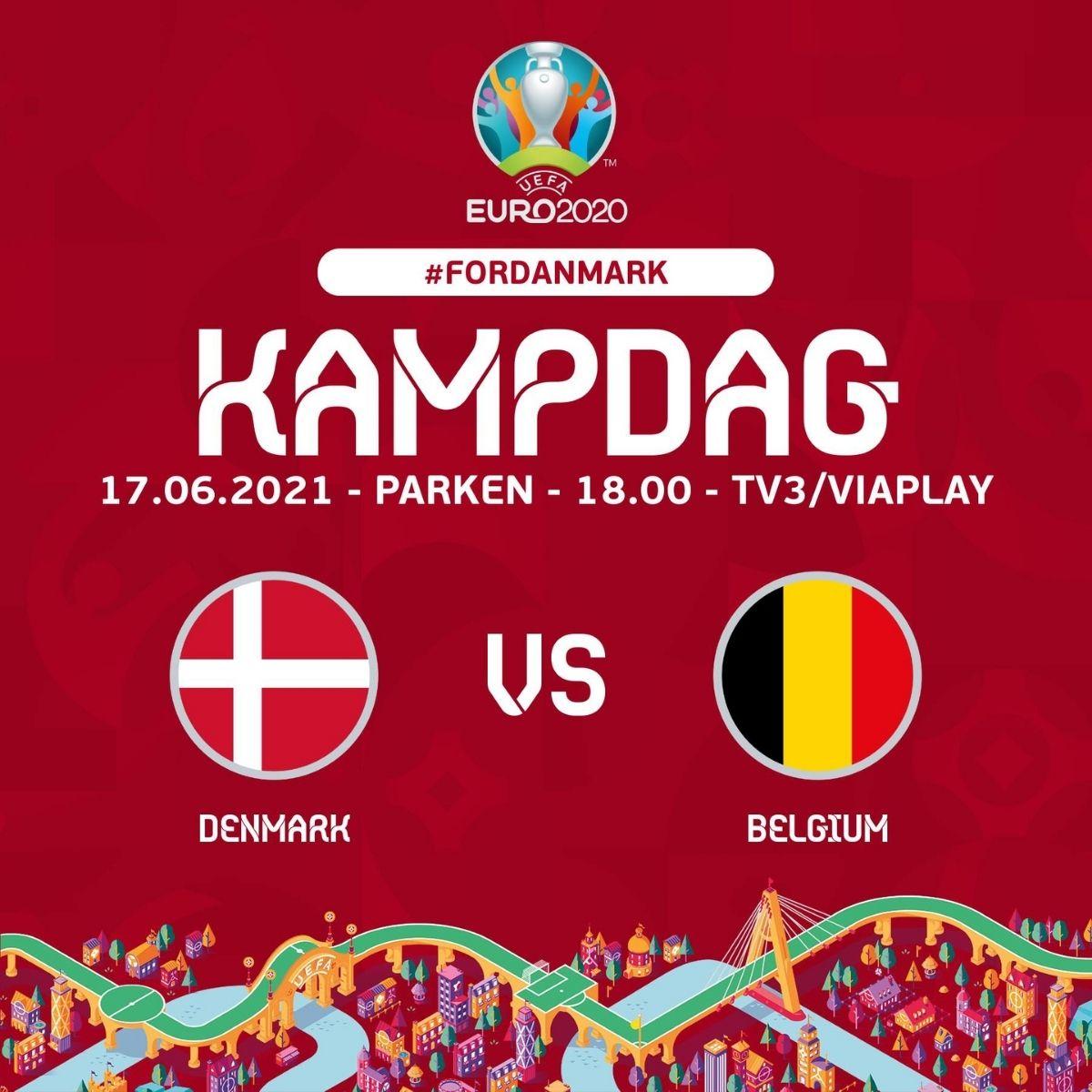 Danimarca Belgio