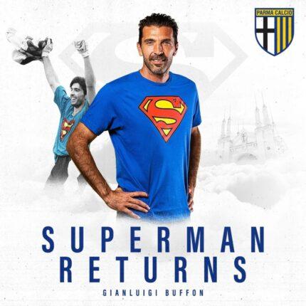 Buffon torna a Parma