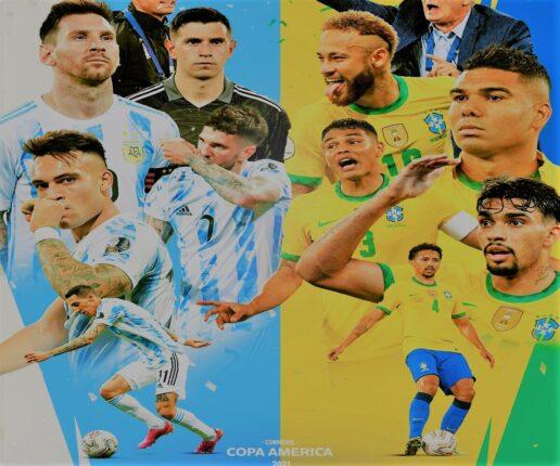 Diretta tv in chiaro TV 8? Dove vedere Brasile-Argentina, streaming gratis Finale Coppa America 2021