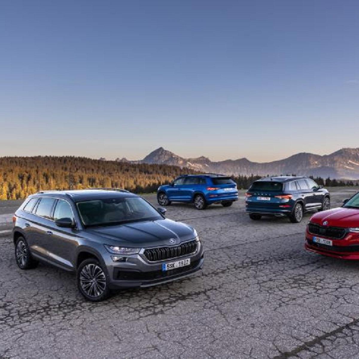 Skoda Kodiaq: arrivano le versioni RS e Laurin&Klement