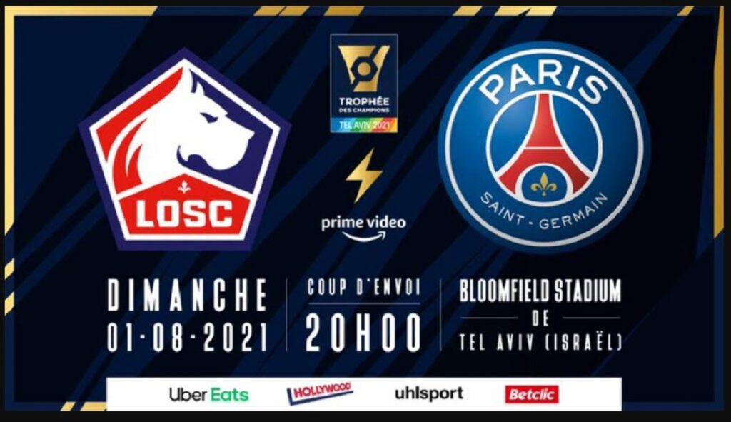Lille Psg, streaming e diretta tv Sky o DAZN? Dove vedere Supercoppa di Francia