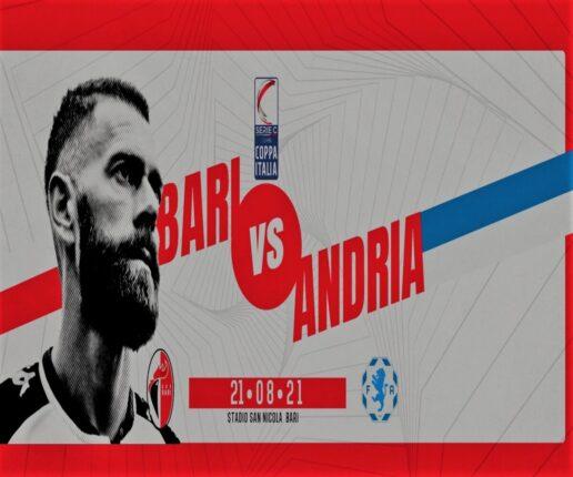 Bari-Fidelis Andria, streaming gratis e diretta tv in chiaro Antenna Sud? Dove vedere primo turno Coppa Italia Serie C