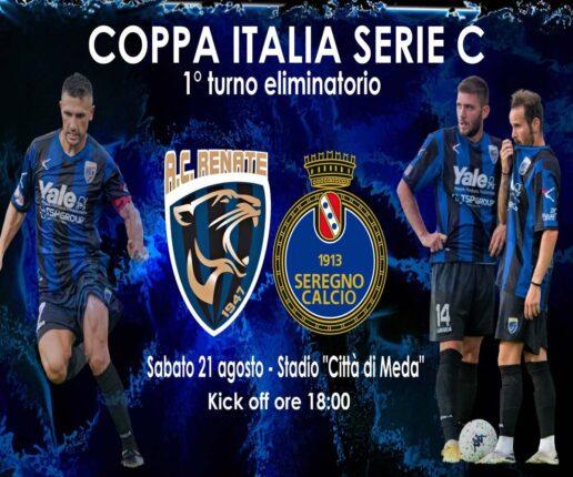 Dove vedere Renate-Seregno, streaming gratis e diretta tv in chiaro RAI? Primo turno Coppa Italia Serie C