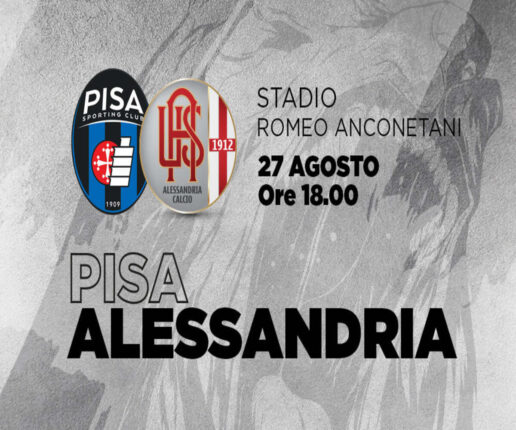 Dove vedere Pisa-Alessandria, streaming gratis e diretta tv in chiaro RAI SPORT? Serie B