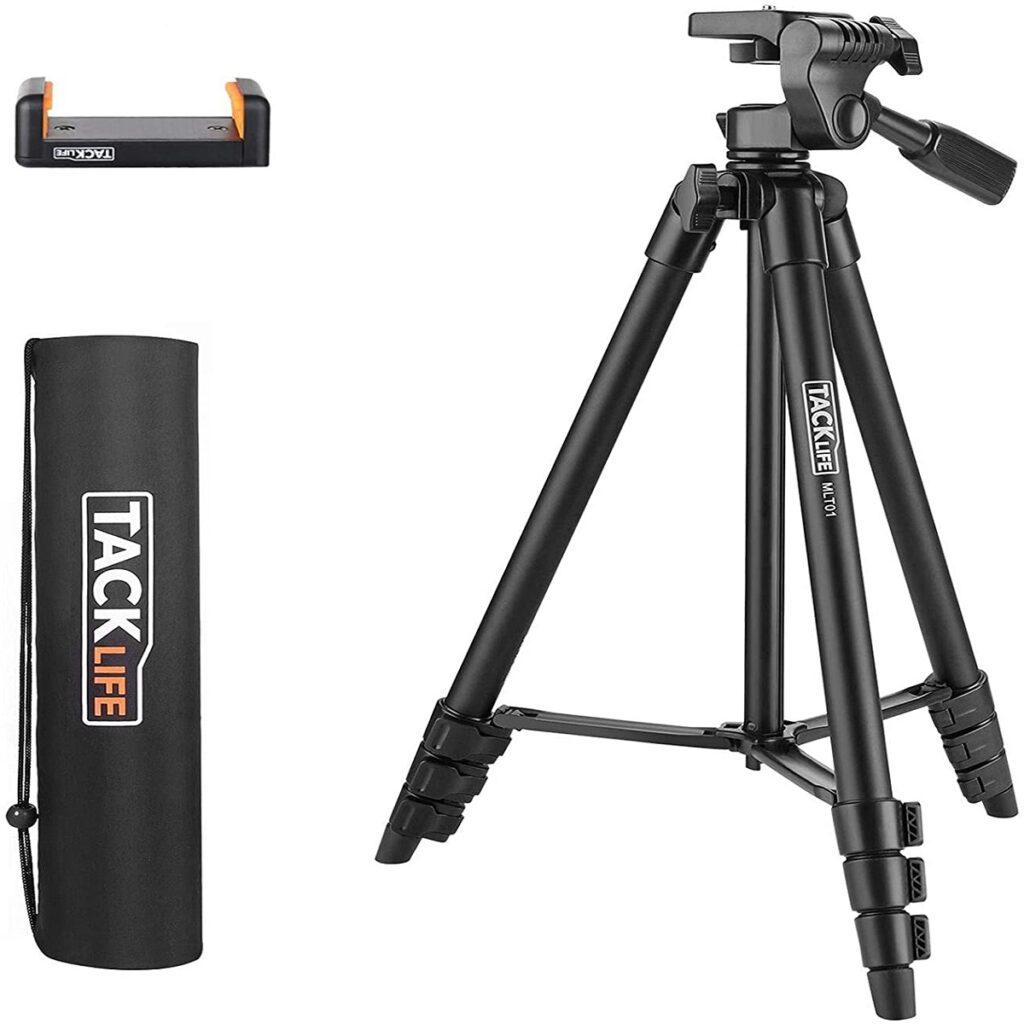 TACKLIFE MLT01: il treppiedi per smartphone e fotocamera con sconto del 50%