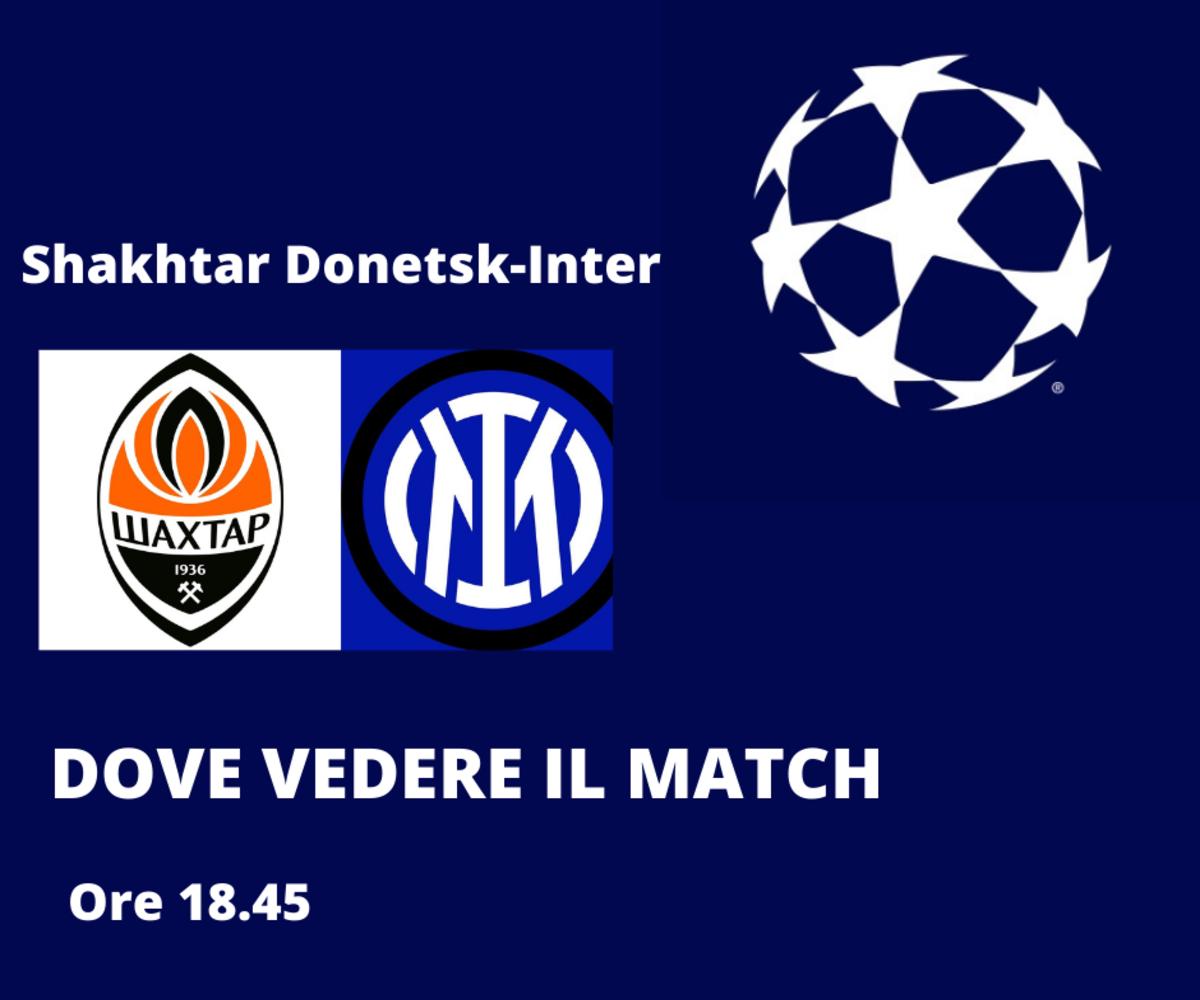 Shakhtar Donetsk-Inter, diretta tv in chiaro e streaming gratis Amazon? Dove vedere il match