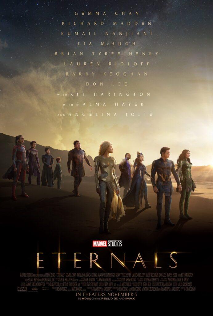 Dove vedere Eternals streaming gratis, Disney+ o Netflix?