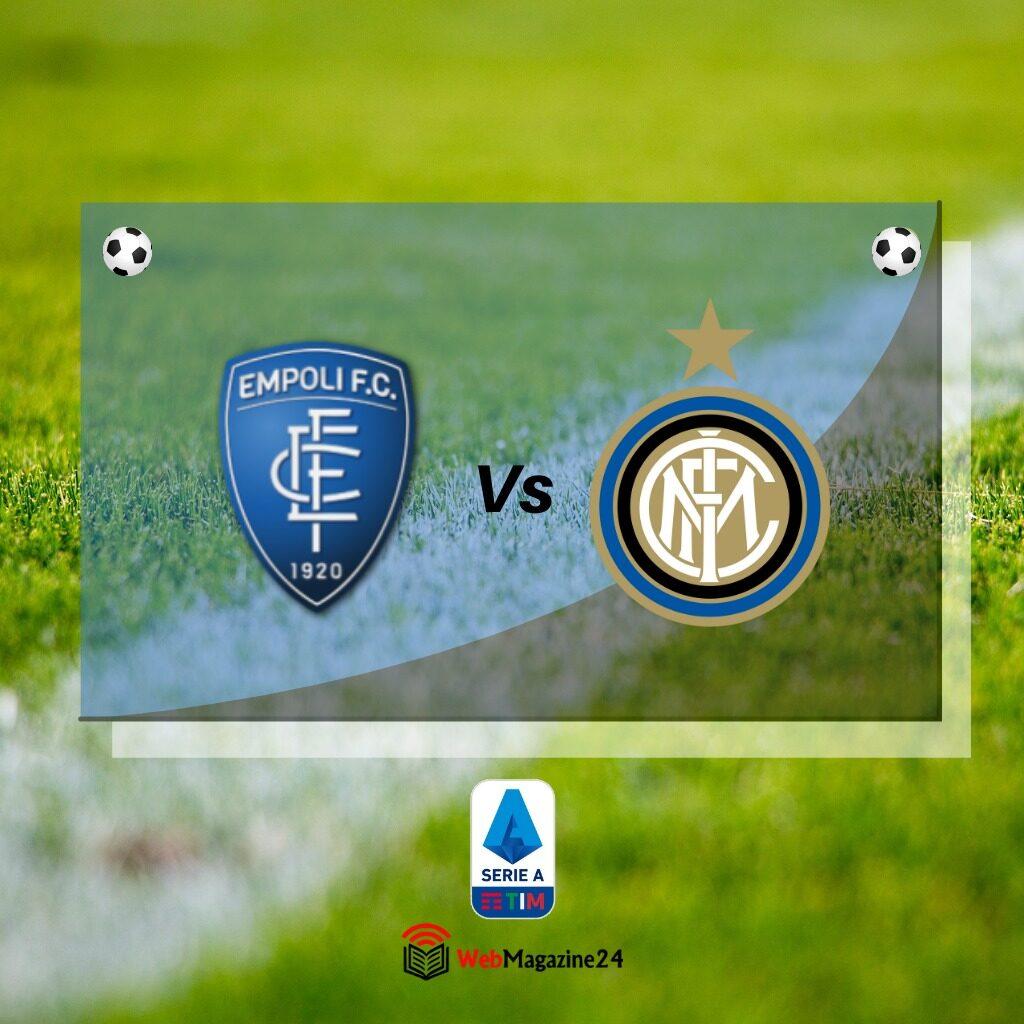 Dove vedere Empoli Inter, streaming gratis Serie A e diretta tv DAZN o SKY?